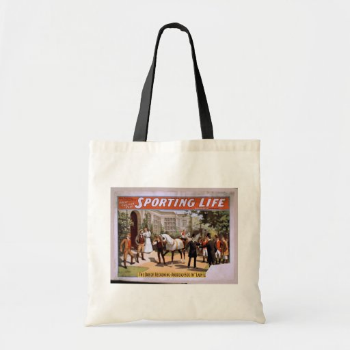 Sporting Life, 'Lady Luck Wins the Derby' Retro Th Bag