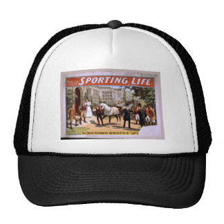 Sporting Life, 'Lady Luck Wins the Derby' Retro Th Trucker Hat