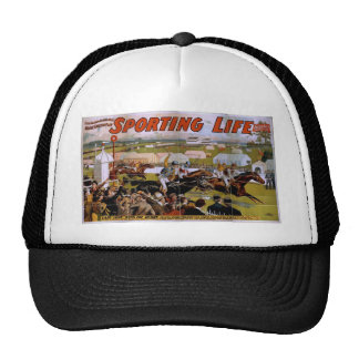 Sporting Life, 'Lady Luck Wins the Derby' Vintage Hats