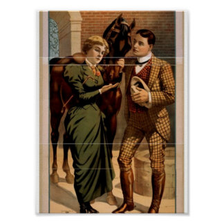Sporting Life, 'Lord Woodstock and his Lady Loves' Poster
