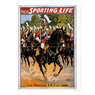 Sporting Life, 'Lord Woodstock' Vintage Theater Postcard