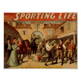 Sporting Life Print