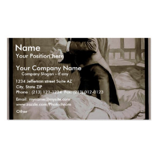 Sporting Life, 'The End' Retro Theater Business Card