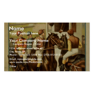 Sporting Life, 'The Great English Derby' Retro The Business Cards