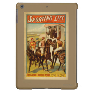 Sporting Life - The Great English Derby Theatre iPad Air Cases