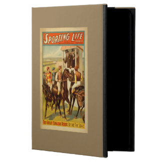 Sporting Life - The Great English Derby Theatre iPad Air Covers