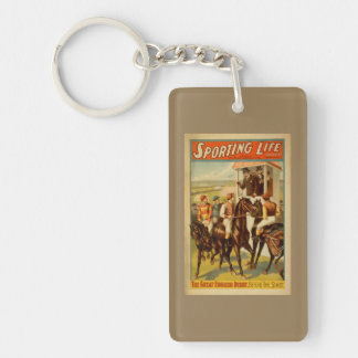 Sporting Life - The Great English Derby Theatre Keychain