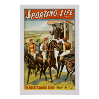 Sporting Life Vintage Poster