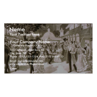 Sporting Life Vintage Theater Business Card Templates