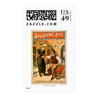Sporting LifeBoxer Boxing Theatre Poster Postage