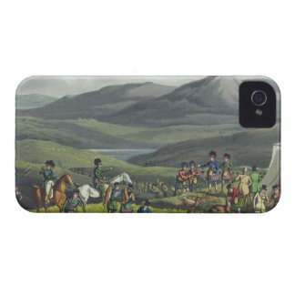 Sporting Meeting in the Highlands, aquatinted by I iPhone 4 Case-Mate Case