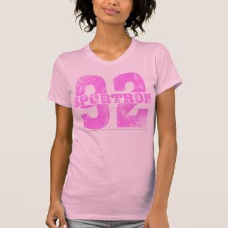 Sportron Distressed 92 Pink Shirt