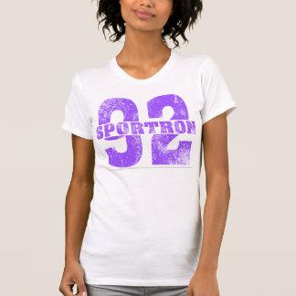 Sportron Distressed 92 Purple Shirt