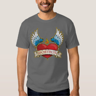 Sportron Heart Wings T-Shirts
