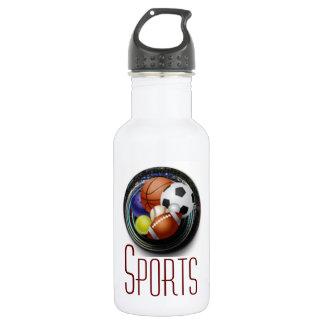 Sports 18oz Water Bottle