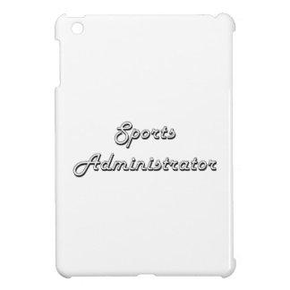Sports Administrator Classic Job Design iPad Mini Cases