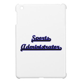 Sports Administrator Classic Job Design Cover For The iPad Mini