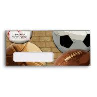 Sports Al-Star, Basketball/Soccer/Football Envelope