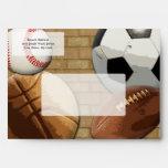 Sports Al-Star, Basketball/Soccer/Football Envelopes
