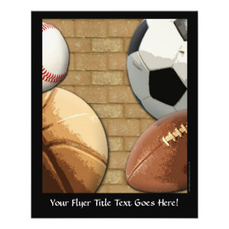 Sports Al-Star, Basketball/Soccer/Football Flyers
