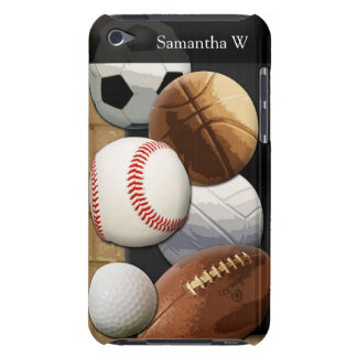 Sports Al-Star, Basketball/Soccer/Football iPod Case-Mate Case