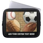 Sports Al-Star, Basketball/Soccer/Football Laptop Sleeve
