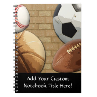 Sports Al-Star, Basketball/Soccer/Football Notebook