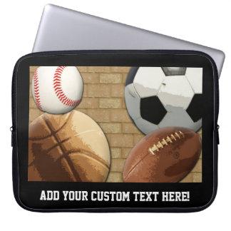 Sports All-Star, Basketball/Soccer/Football Computer Sleeve