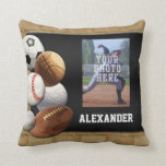 Sports All-Star Custom Photo/Name Pillow
