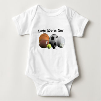 Sports and Balls Baby Bodysuit
