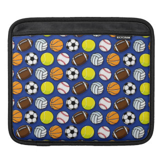 Sports and Games Pattern iPad Sleeves