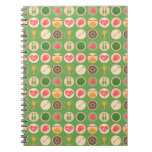 Sports and Games Pattern Notebook