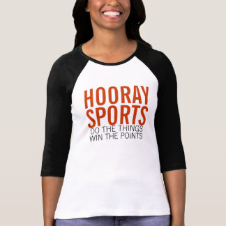 Sports and points and things tees