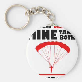 sports and skydive, Mine takes both Keychain