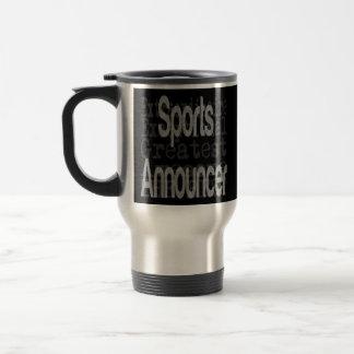 Sports Announcer Extraordinaire 15 Oz Stainless Steel Travel Mug