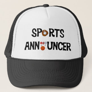 Sports Announcer Hat