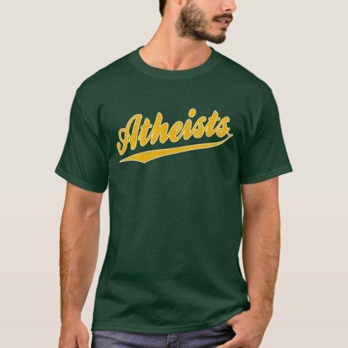Sports Atheist T_ Shirt