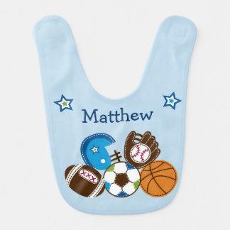 Sports Baby Bib
