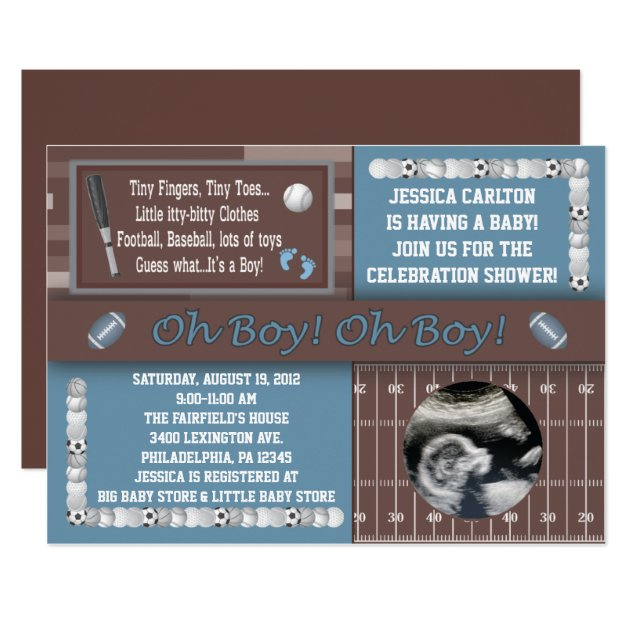 wedding ideas for kids sports baby shower invitations zazzle 27815