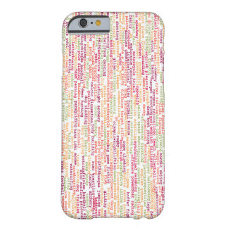 Sports Background Barely There iPhone 6 Case