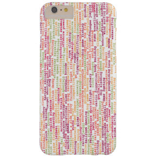 Sports Background Barely There iPhone 6 Plus Case