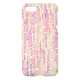 Sports Background iPhone 8/7 Case