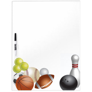 Sports Ball Athlete Game Team Season Dry-Erase Board
