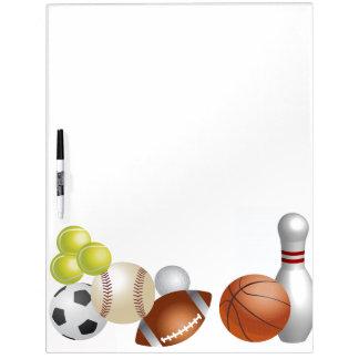 Sports Ball Athlete Game Team Season Dry Erase Board