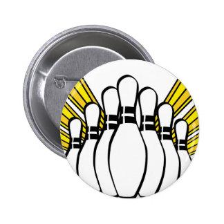 Sports Ball Bowling Coach Team Game Strike Button