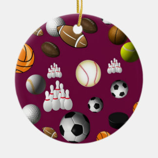Sports Ball Ornament