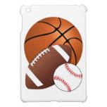Sports Balls Basketball Football Baseball iPad Mini Covers