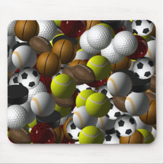 Sports Balls Mousepad