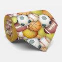 Sports-balls tie
