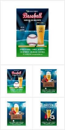 Sports Bar Promotional Package